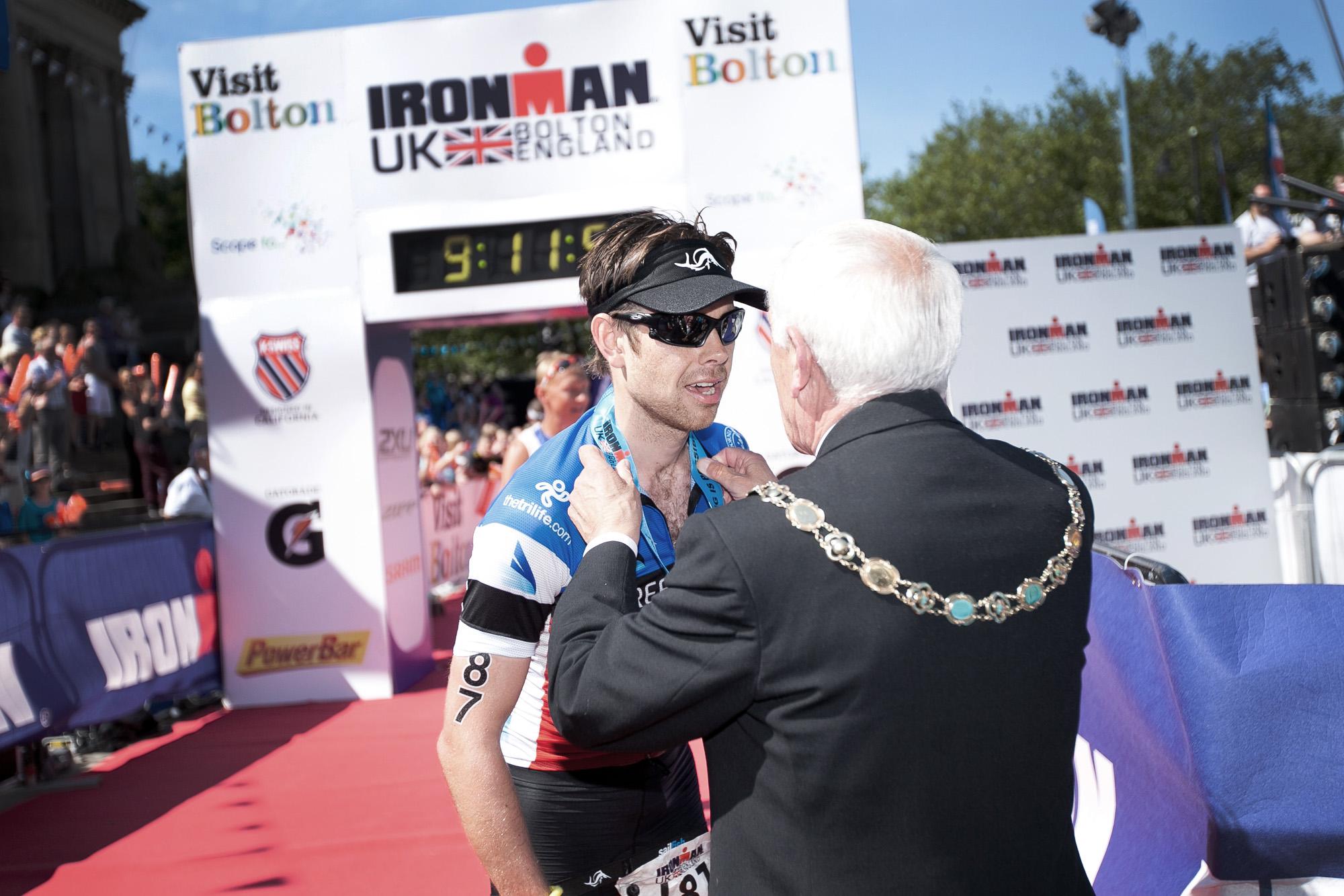 Sam Baxter Ironman UK